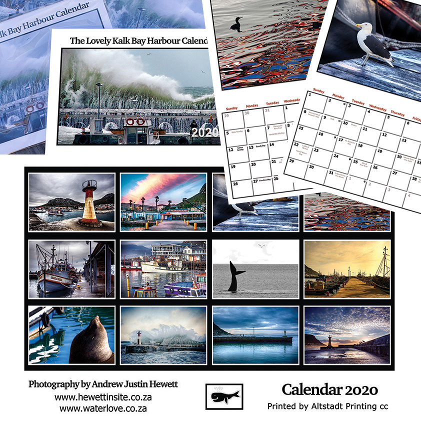 Lovely Kalk Bay Harbour Calendar 2020